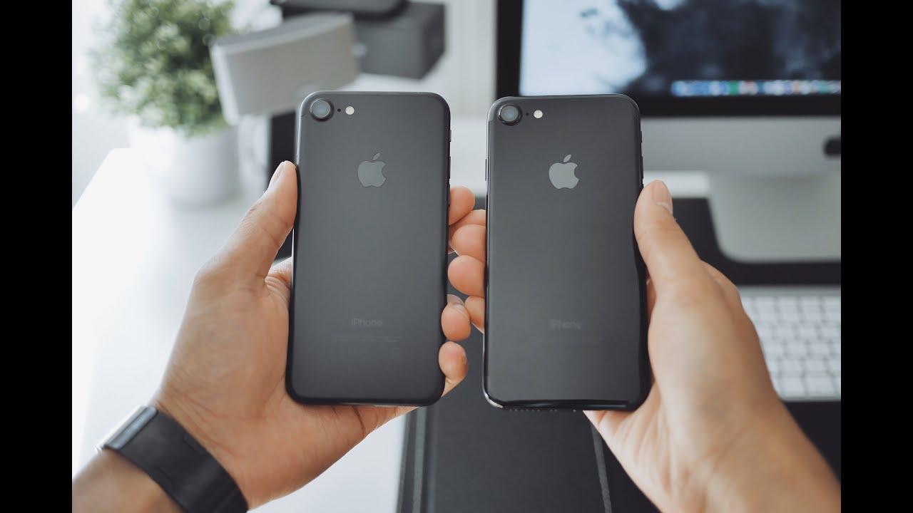 black matte iphone 7