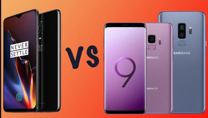 OnePlus 6T vs Samsung Galaxy S9