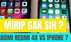 Review Iphone 7 dengan Xiaomi Redmi 4x – Mirip gak yah ?
