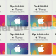 harga itunes gift card indonesia murah